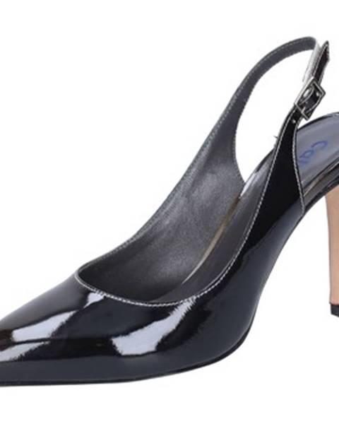 Čierne sandále Calpierre