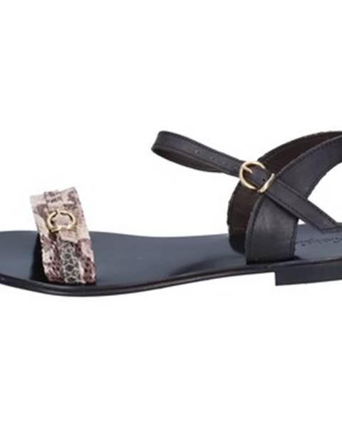 Béžové sandále Calpierre