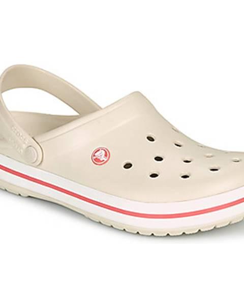 Béžové topánky Crocs