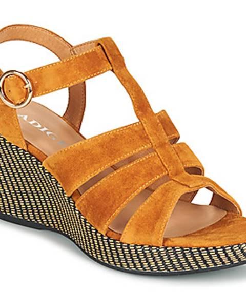 Žlté sandále Adige