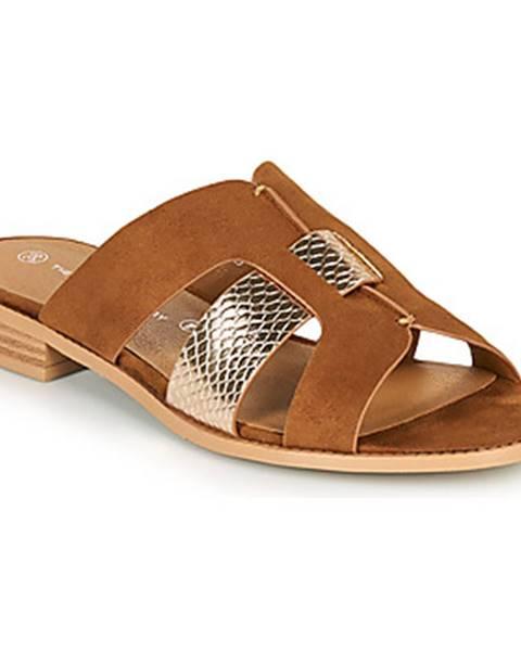 Béžové topánky The Divine Factory