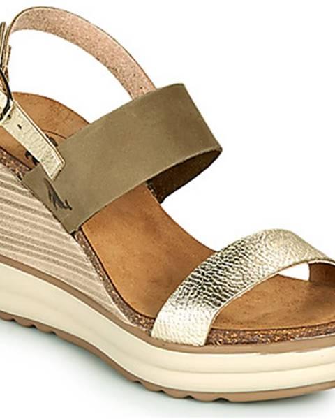 Zelené sandále Plakton