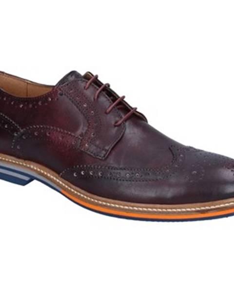 Bordové topánky Herman   Sons