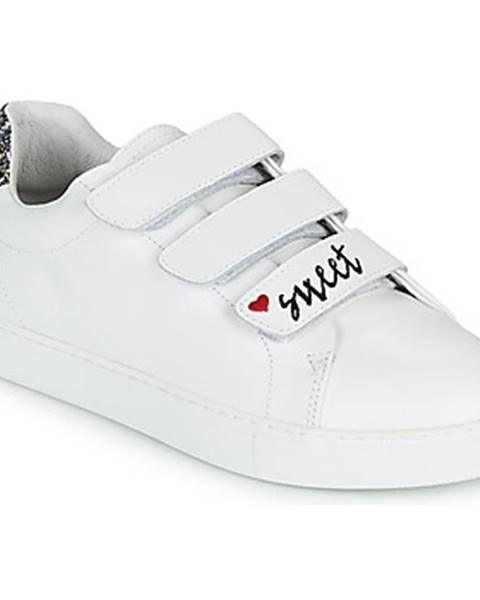 Biele tenisky Bons baisers de Paname