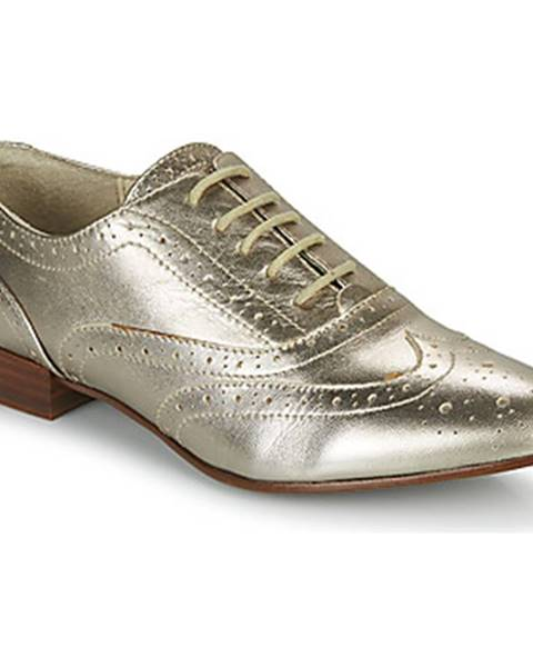 Strieborné topánky JB Martin