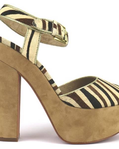 Viacfarebné sandále Ash