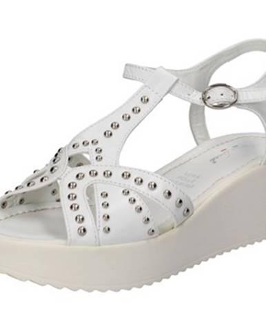 Biele sandále Fascino Donna
