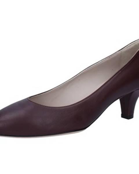 Bordové lodičky Bally Shoes