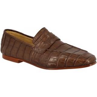 Mokasíny Leonardo Shoes  TRENTO COCCO TDM
