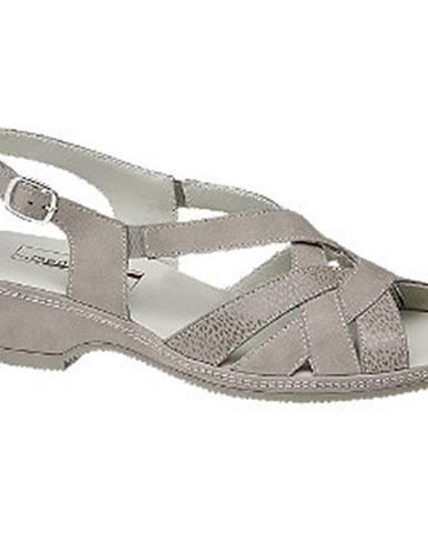Strieborné sandále Medicus