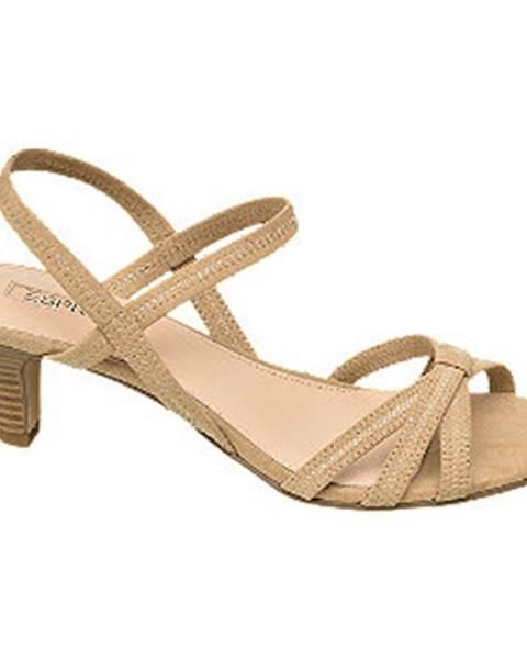 Béžové sandále Esprit