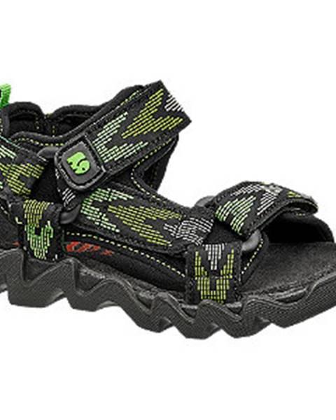 Zelené sandále Elefanten