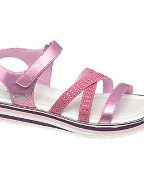 Ružové sandále Esprit