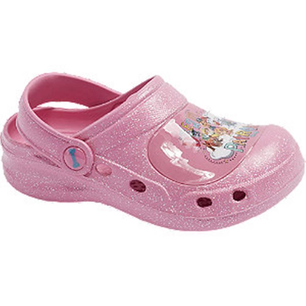 Paw Patrol Ružové sandále Labková patrola
