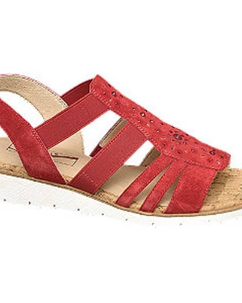 Červené sandále Medicus