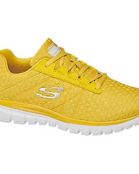 Žlté tenisky Skechers