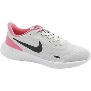 Sivo-ružové tenisky Nike Revolution 5