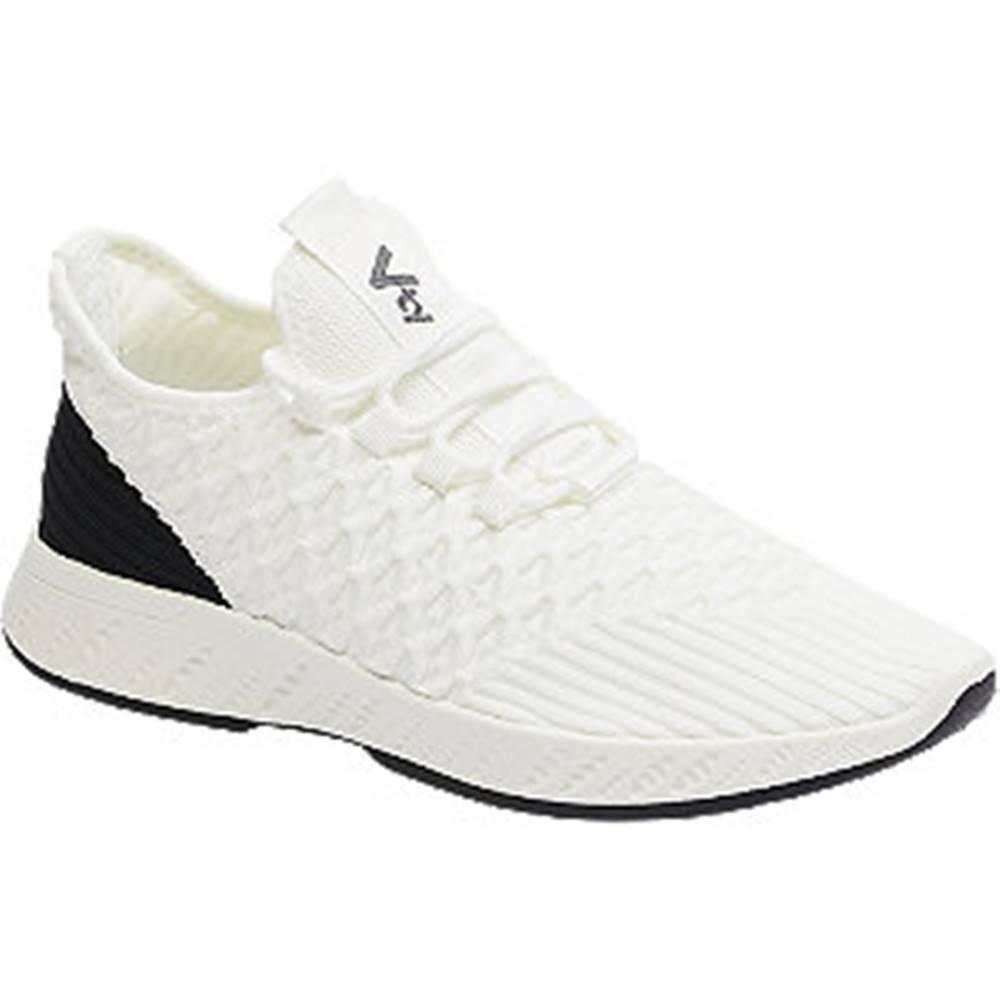 Vty Čierno-biele tenisky Vty