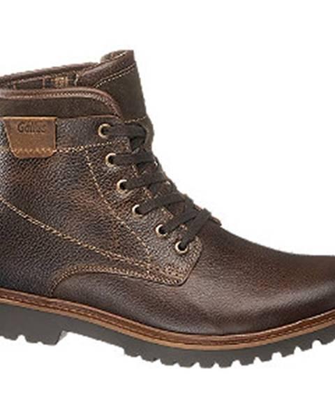 Hnedé topánky Gallus