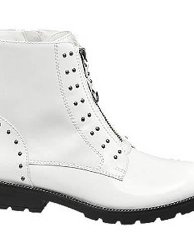 Biele čižmy Catwalk