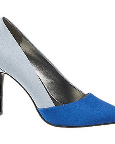 Modré lodičky Graceland