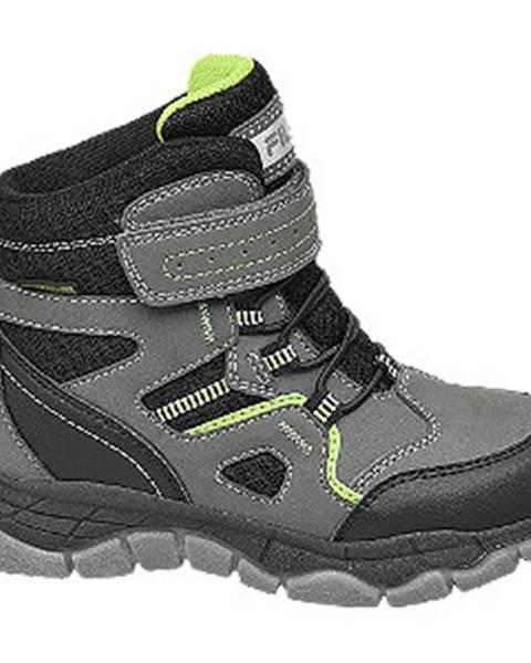 Sivá zimná obuv Fila