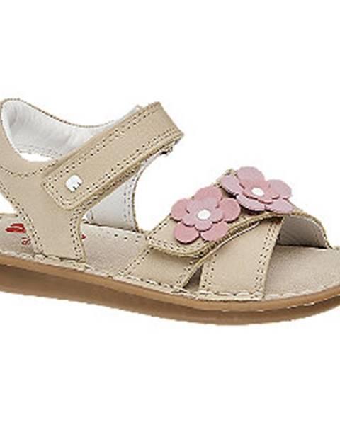 Béžové sandále Elefanten