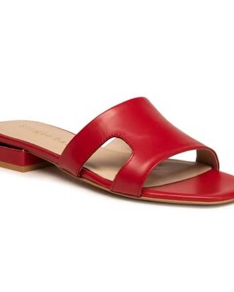 Červené topánky Sergio Bardi