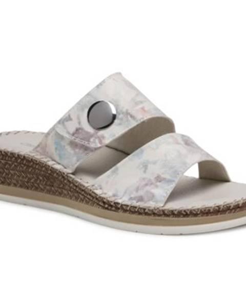 Biele topánky Clara Barson