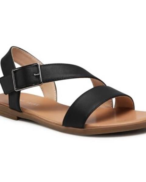 Čierne sandále Jenny Fairy