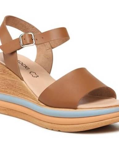 Camel sandále Lasocki