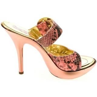 Lodičky John-C  Dámske ružové šľapky MINE