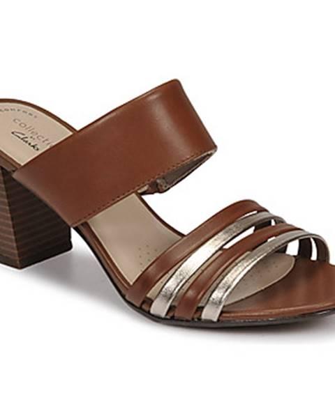 Hnedé topánky Clarks
