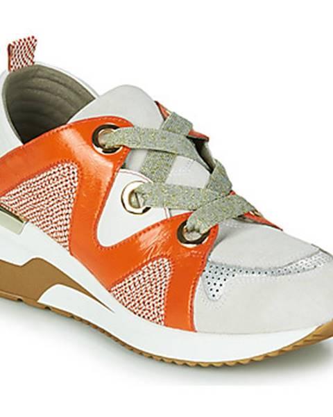 Oranžové tenisky Mam'Zelle