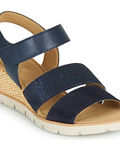 Modré sandále Gabor