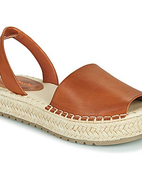 Hnedé sandále Emmshu