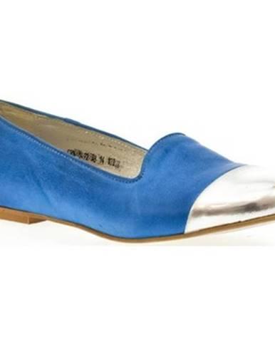 Modré balerínky Carinii