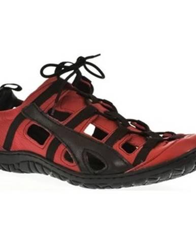Červené športové sandále Krezus