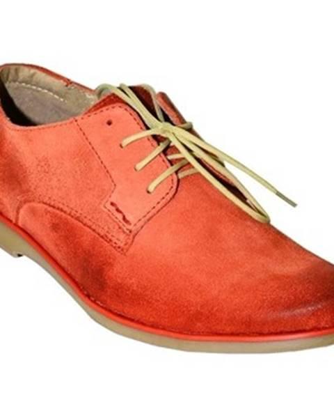 Červené topánky Krezus