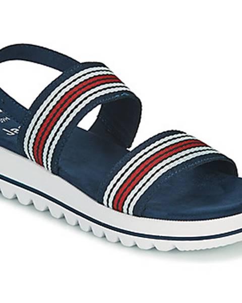 Modré sandále Jana