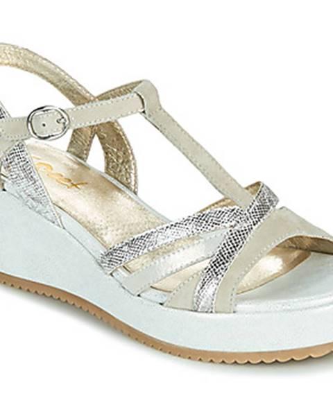 Biele sandále Sweet