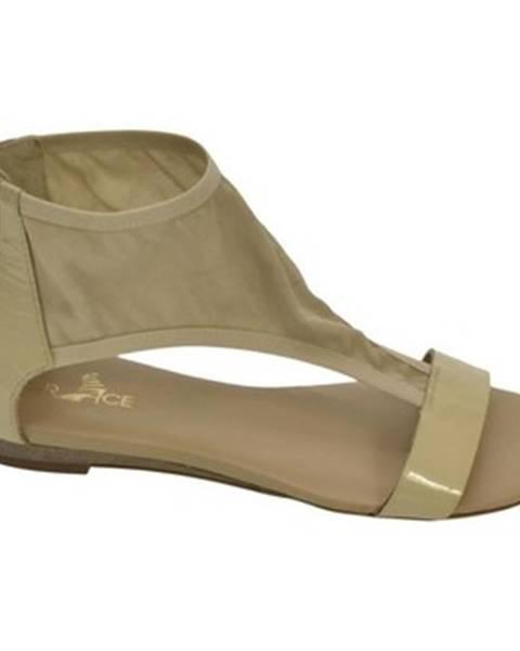 Béžové sandále Robson