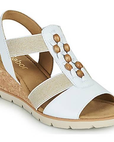 Biele sandále Gabor