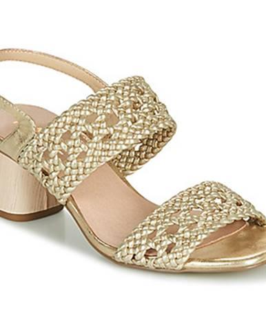 Zlaté sandále Ravel