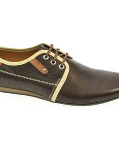 Hnedé topánky Basso Lavagio