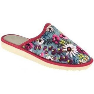 Papuče John-C  Dámske ružové papuče EDNA