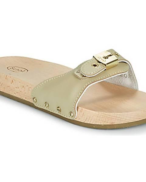 Béžové topánky Scholl