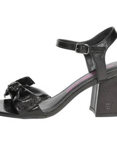 Čierne sandále Fornarina