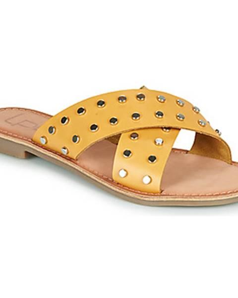Žlté topánky Les Petites Bombes