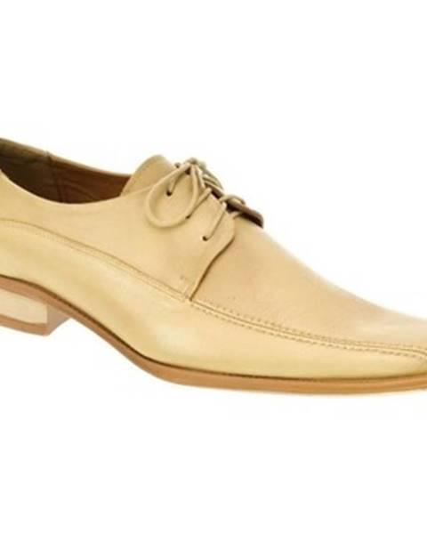 Béžové topánky Oleksy